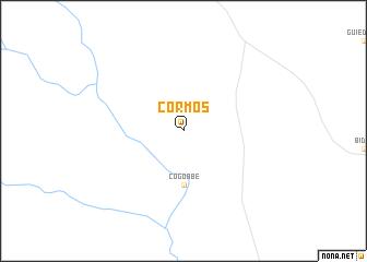 map of Cormos