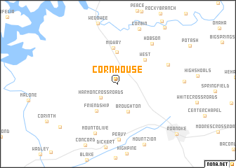 map of Cornhouse