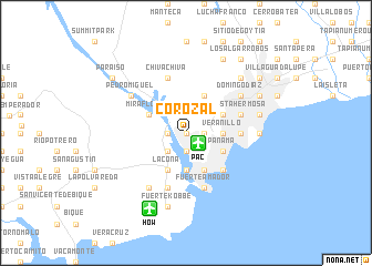 map of Corozal