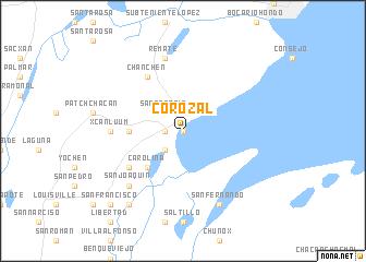 map of Corozal