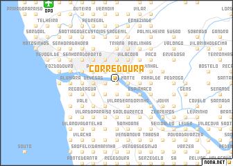 map of Corredoura