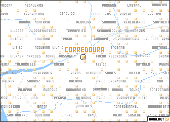 map of Corredoura