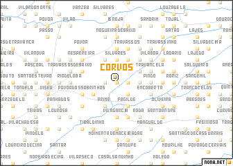 map of Corvos