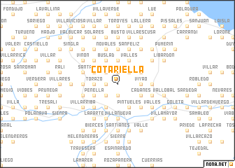 map of Cotariella