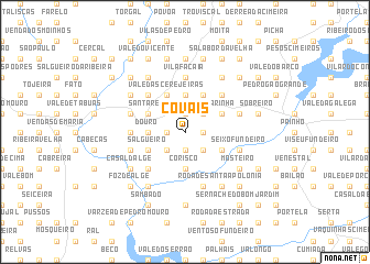 map of Covais