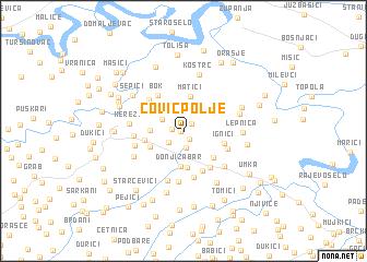 map of Čović Polje