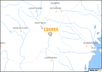 map of Cowpen