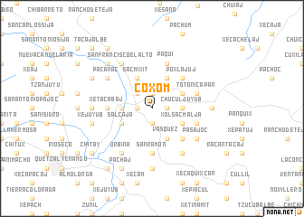map of Coxom