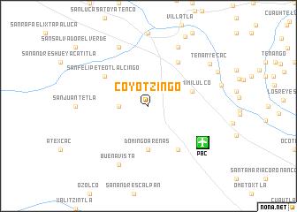 map of Coyotzingo