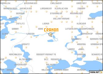 map of Cramon