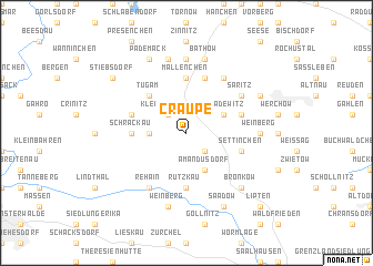 map of Craupe