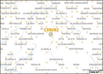 map of Cravaz