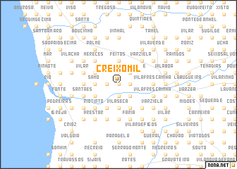 map of Creixomil