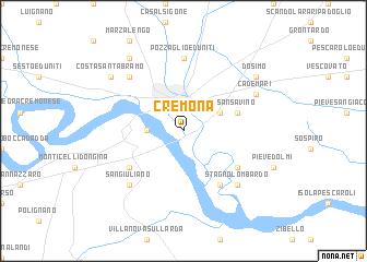 Cremona Italy map nonanet