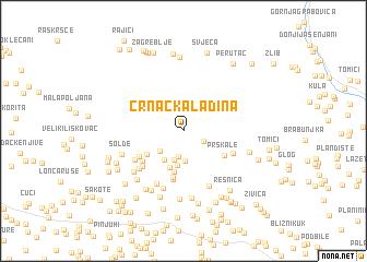 map of Crnačka Ladina