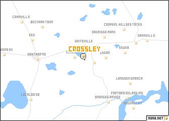 map of Crossley