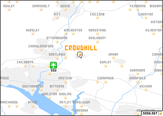 map of Crowdhill