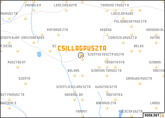 map of Csillagpuszta