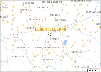 map of Cuauhtelulpan