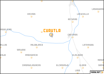 map of Cuautla