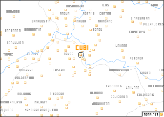 map of Cubi