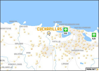 map of Cucharillas