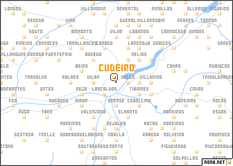 map of Cudeiro