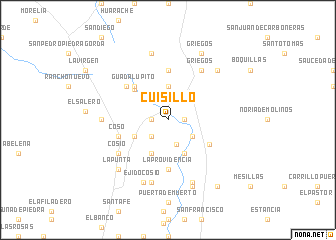 map of Cuisillo