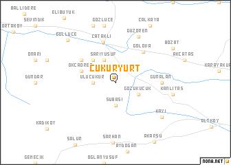 map of Çukuryurt