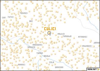 map of Culići