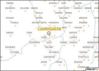 map of Cumangwena
