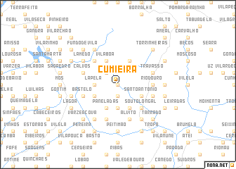 map of Cumieira