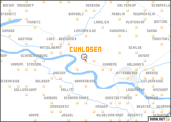 map of Cumlosen