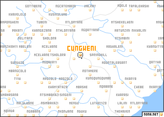 map of Cungweni