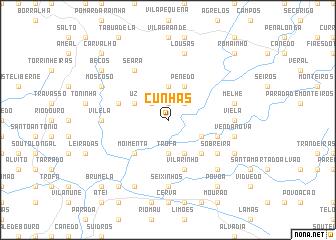 map of Cunhas
