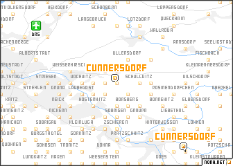 map of Cunnersdorf