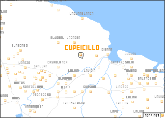 map of Cupeicillo