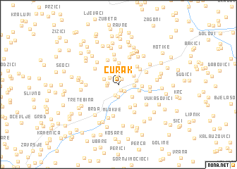 map of Curak