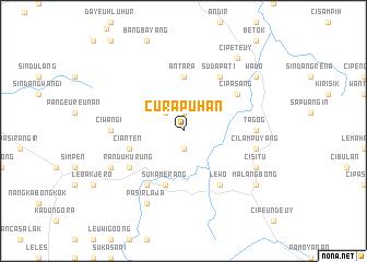 map of Curapuhan