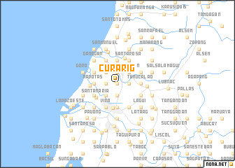 map of Curarig