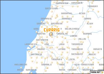 map of Curarig
