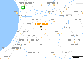 map of Curinga