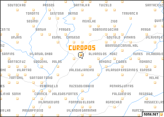 map of Curopos