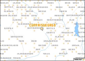 map of Currais de Gado