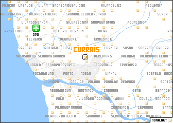 map of Currais
