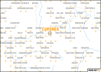 map of Cursães