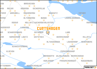 map of Curtshagen