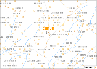 map of Curva