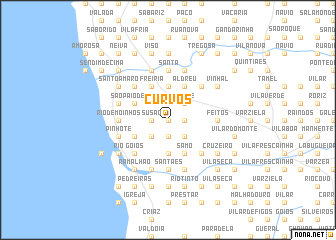 map of Curvos