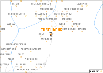 map of Cuscudoma